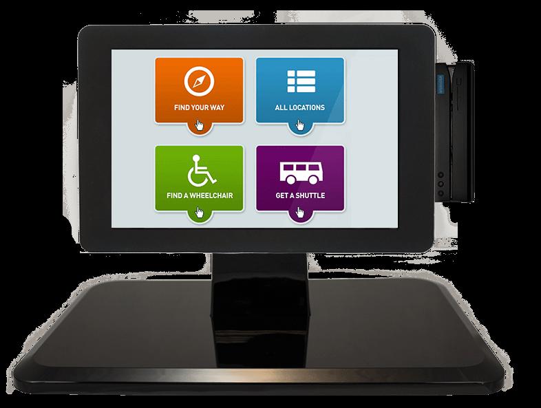 Samsung tablet healthcare kiosk